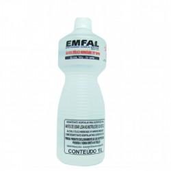 ALCOOL HIDRATADO 70% EMFAL 1L