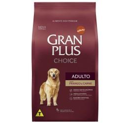 Ração Gran Plus Choice Frango e Carne para Cães Adultos 15kg