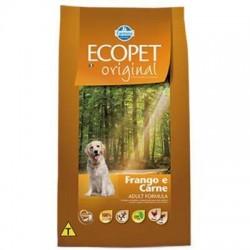 Ração Ecopet Original Carne e Frango para Cães Adultos 20 Kg