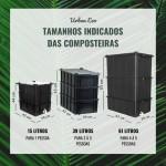 COMPOSTEIRA 61 LITROS URBAN